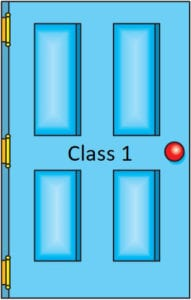 Class 1 door icon