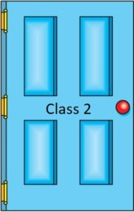 Class 2 door icon