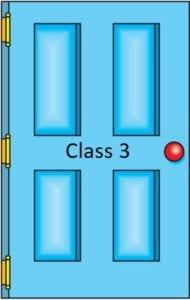 Class 3 door icon