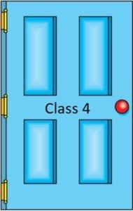 Class 4 door icon