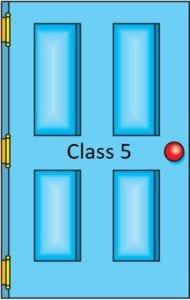 Class 5 door icon