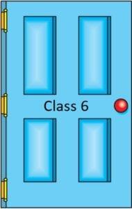 Class 6 door icon